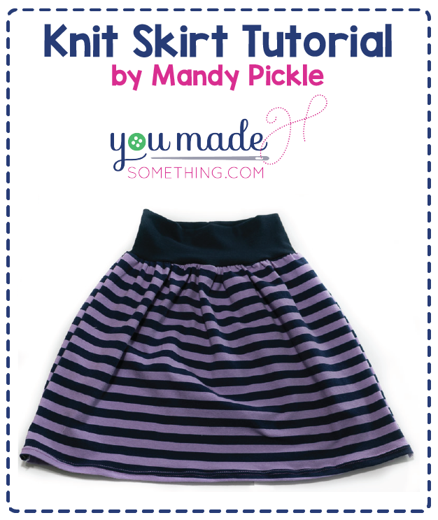 Knit Gathered Skirt Tutorial Made Whimsy Llc